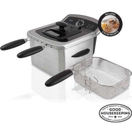 Farberware 4L Deep Fryer, Stainless Steel - Walmart.com