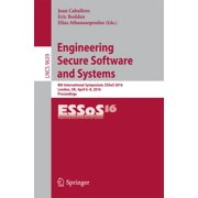 Engineering Secure Software and Systems - eBook