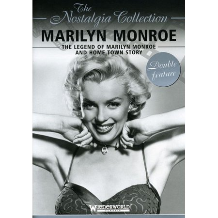 Legend of Marilyn Monroe / Home Town Story (DVD) (Bert Stern Marilyn Monroe The Complete Last Sitting)