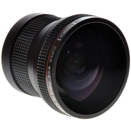 Opteka HD2 0.20X Professional Super AF Fisheye Lens for O...