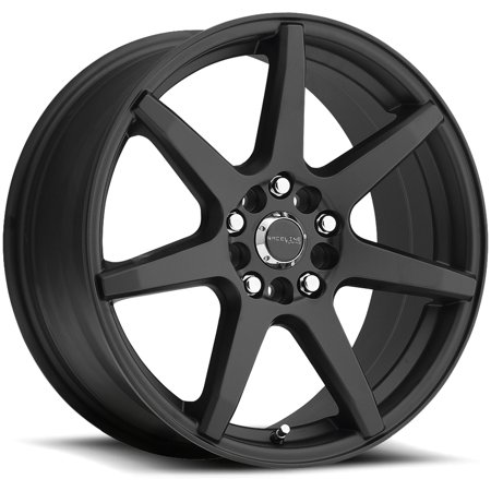 18' Black Chrome Rims - 18