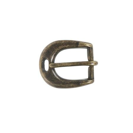 Horse Horseshoe Belt Buckle (3/4