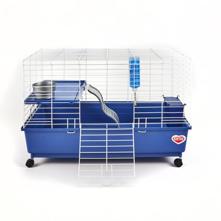 Kaytee Deluxe 30 X 18 2 Level Guinea Pig Cage E-Commerce Ready Packaging Guinea Pig - Guinea Pig Halloween Cage