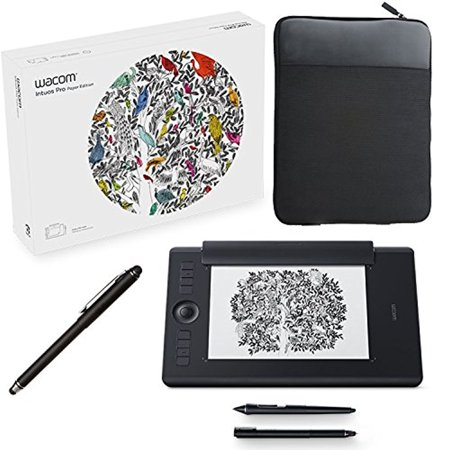wacom intuos pro paper edition digital graphic drawing tablet for