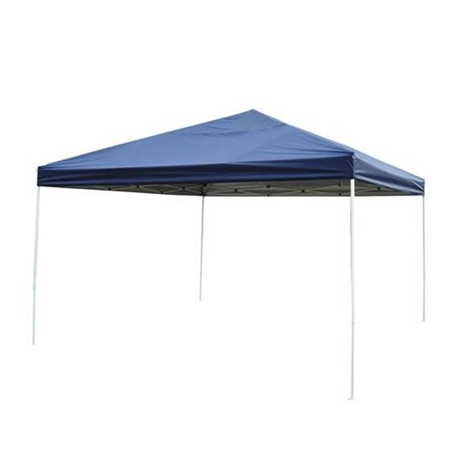 Outsunny 13' x 13' Easy Pop Up Party Tent - Blue