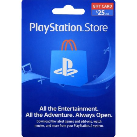 Sony PS4 $25 Gift Card