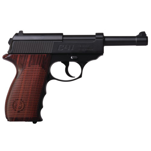 Crosman C41 Full Metal .177 Caliber Semi-Auto CO2 Air Pistol, 495fps by Crosman Air Guns