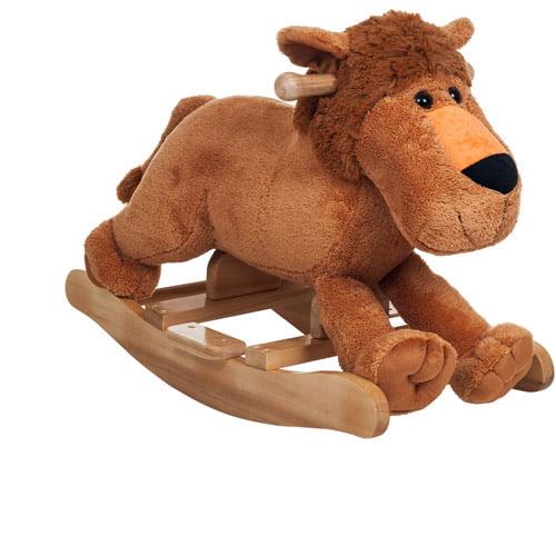 TRADEMARK GAMES INC Happy Trails Plush Rocking Leo Lion