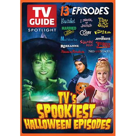 TV Guide Spotlight: TV's Spookiest Halloween (Tv 31 Days Of Halloween)