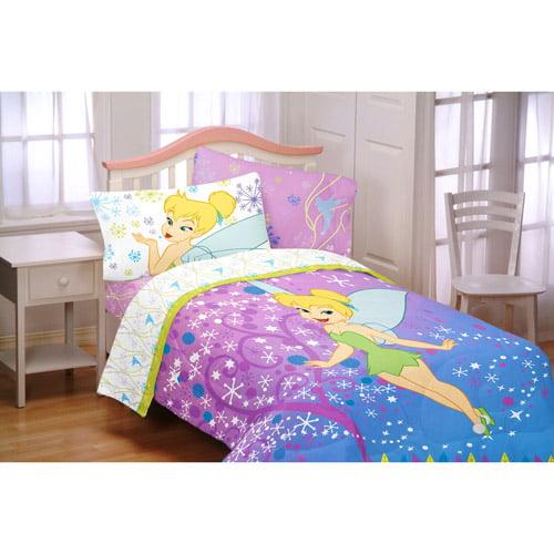 tinkerbell pixie power twin sheet set. Black Bedroom Furniture Sets. Home Design Ideas