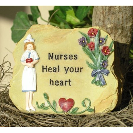 Nurses Heal Your Heart Miniature Rock - Gifts for Nurses - Nurses Gifts - Nurse Angel - Nursing - Nurse Gifts