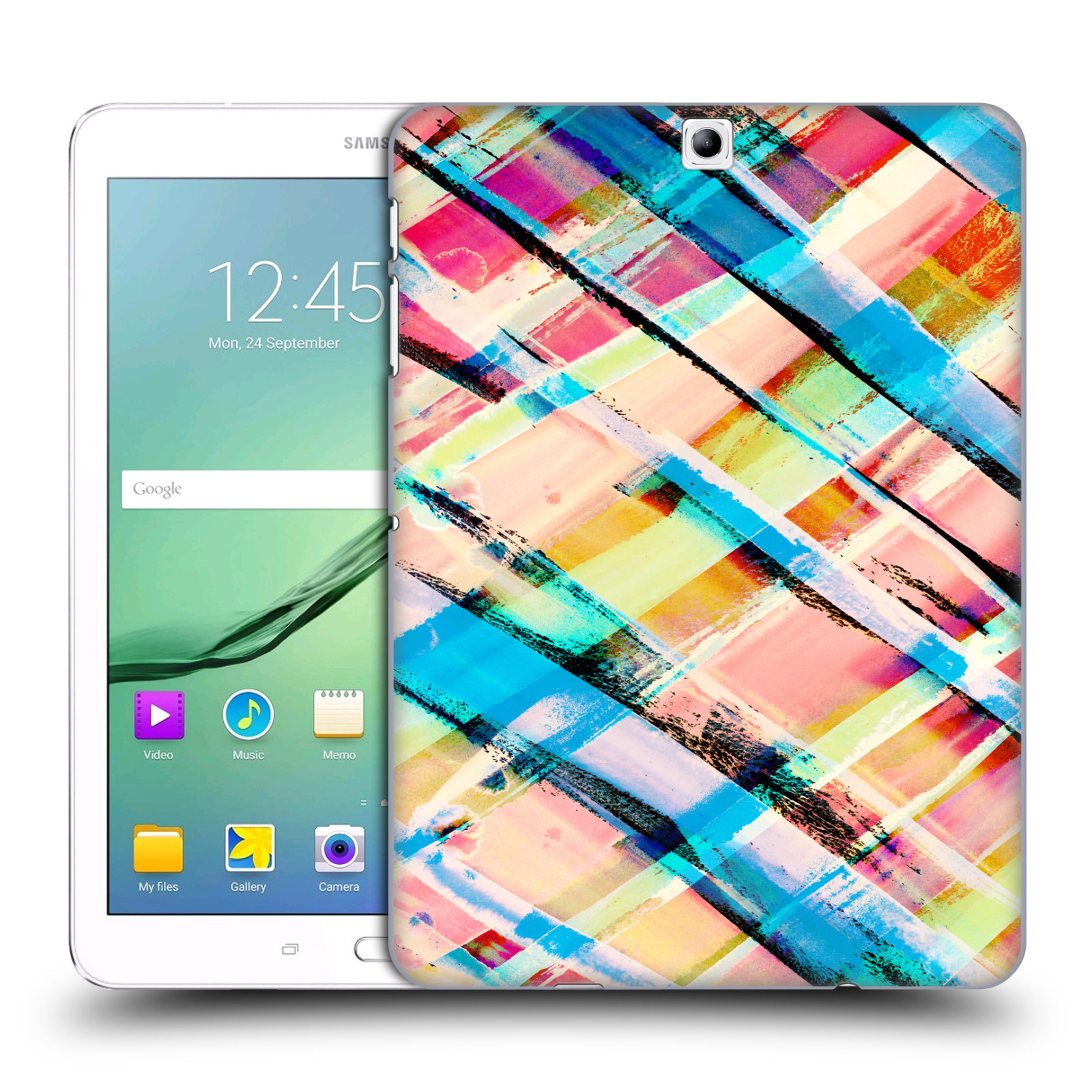 OFFICIAL AMY SIA GEOMETRIC HARD BACK CASE FOR SAMSUNG TABLETS 1