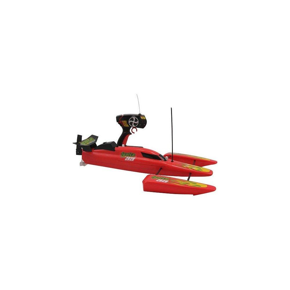 remote control ignite racing 99 speed boat - red or black...