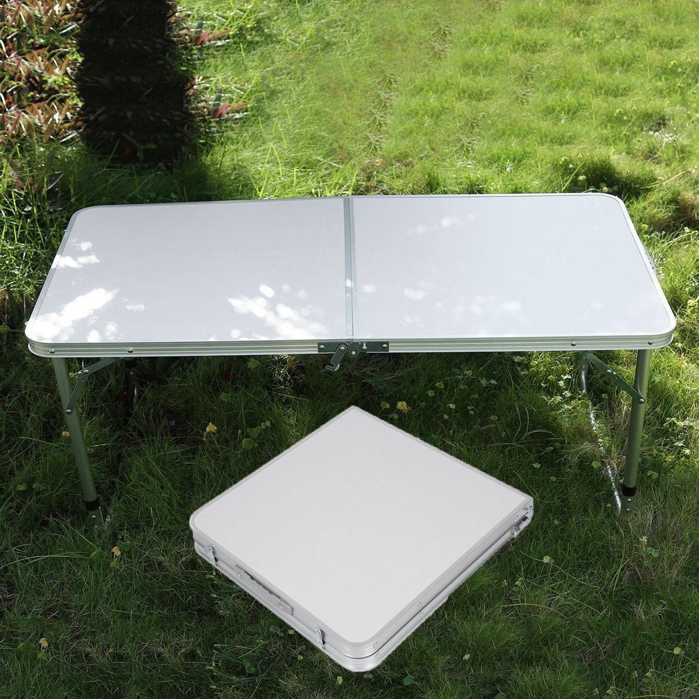 high quality laptop desk stand portable aluminum picnic party dining camping desk folding indoor
