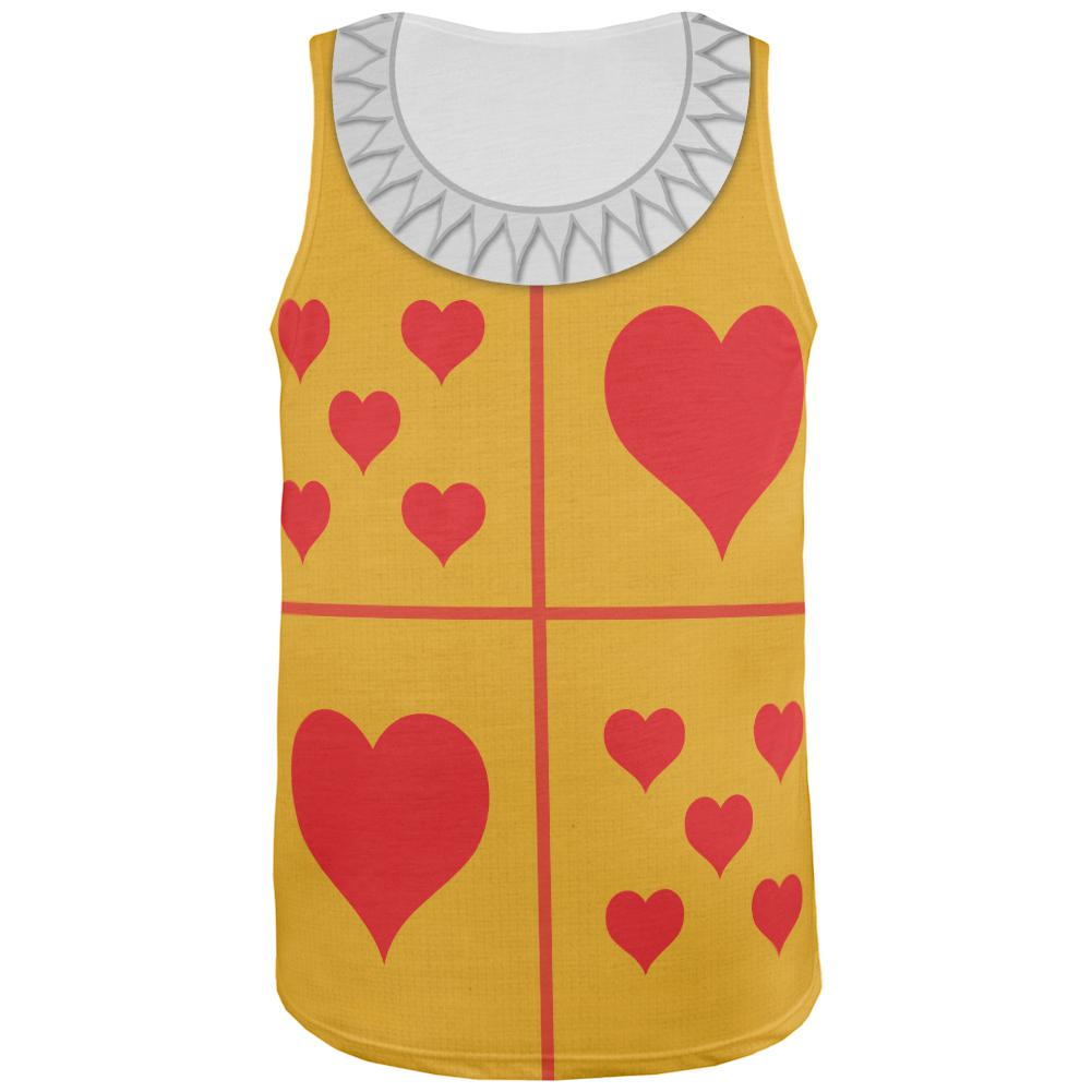 Halloween White Rabbit Costume All Over Adult Tank Top