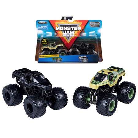 Soldier Fortune & Soldier Fortune Black Ops Double Down Shodown Monster Jam