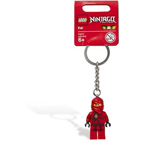 LEGO Red Ninjago Keychain with LEDLite Kai