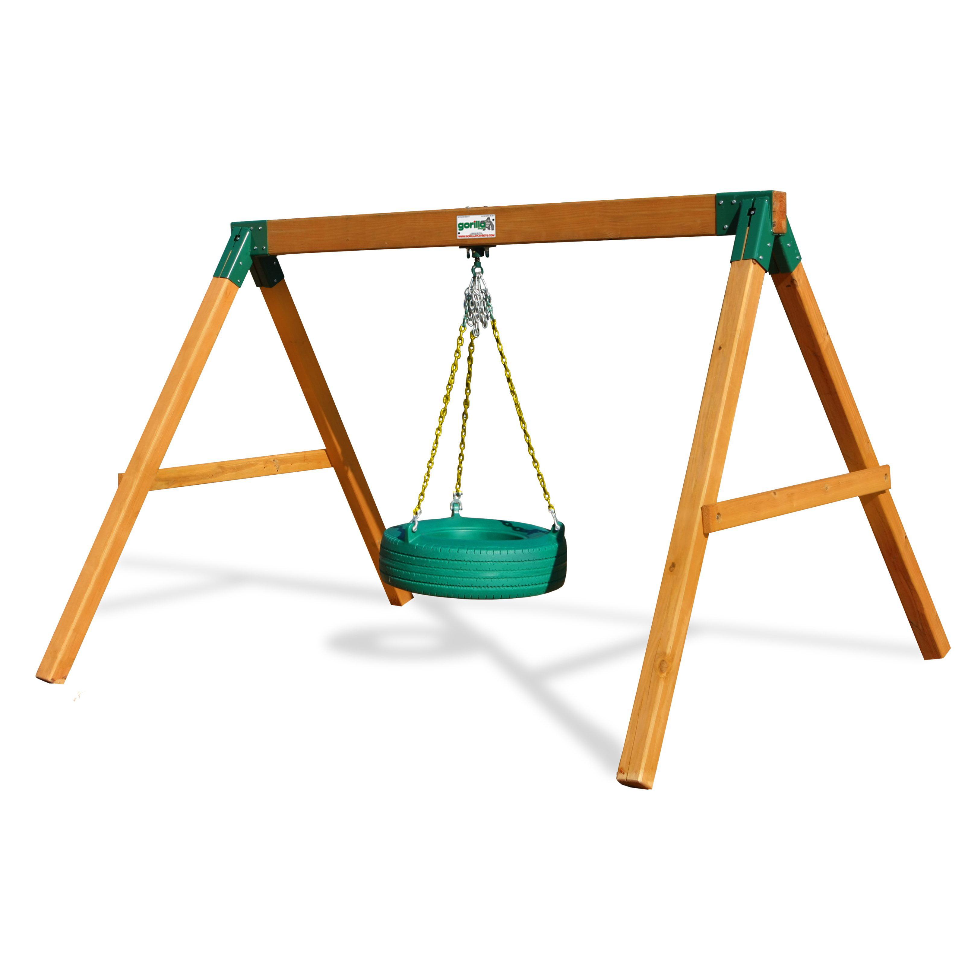 Gorilla Playsets Free Standing Tire Swing Set