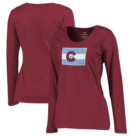 Colorado Rapids Fanatics Branded Women's Plus Size Hometown Collection Long Sleeve T-Shirt -