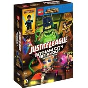 Lego DC Comics Super Heroes: Justice League Gotham City Breakout Original Movie (DVD + Limited Edition Lego Minifigure) by WARNER HOME VIDEO