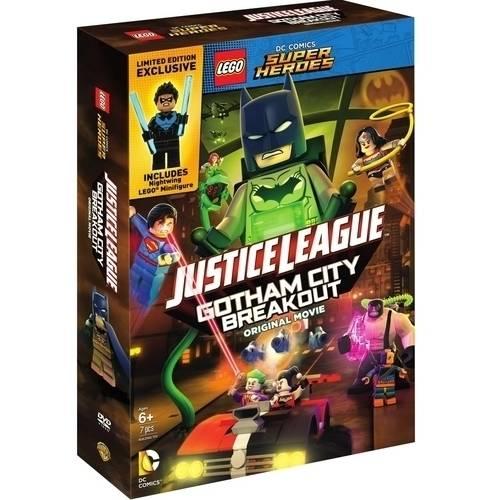 LEGO DC Comics Super Heroes: Justice League - Gotham City Breakout ...