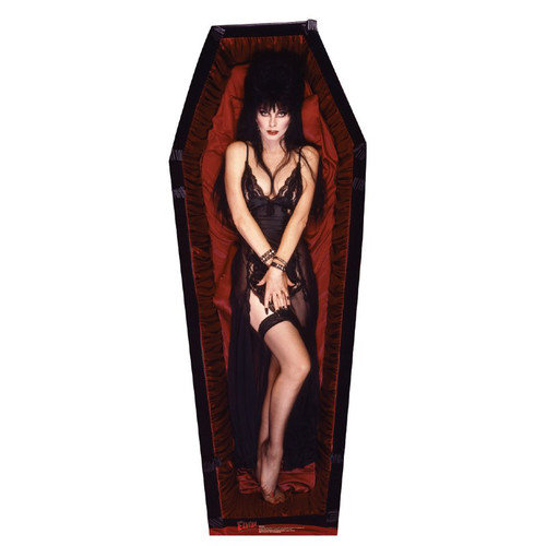 Advanced Graphics Elvira Coffin Cardboard Stand-Up
