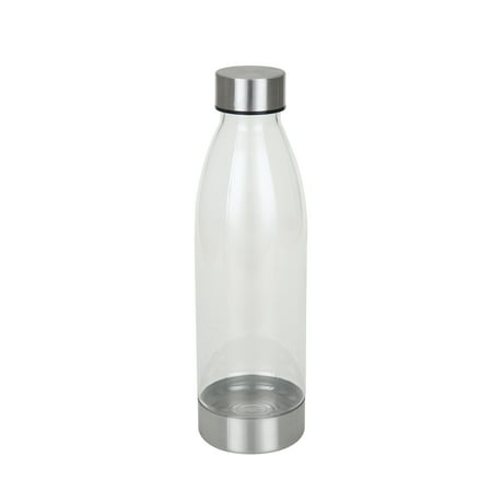 Mainstays 22 Ounce Water Bottle with Stainless Steel Lid and