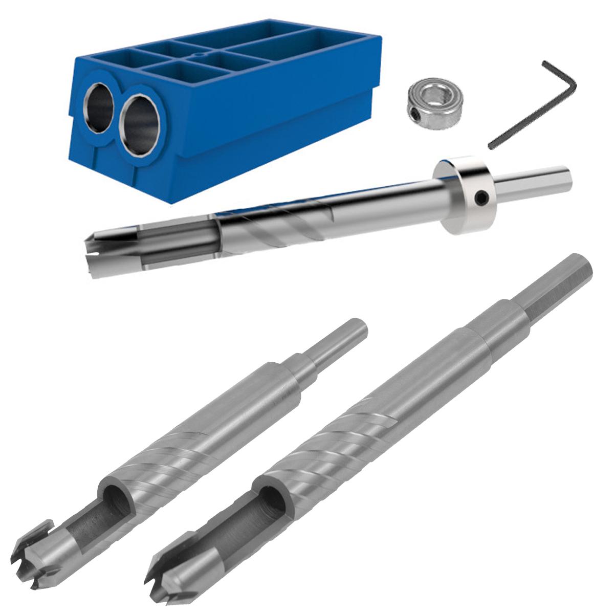 Kreg Pocket Hole Plug Cutter Master Pack (KPCS, KPC1060, ...