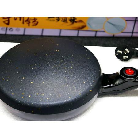 600W Kitchen Electric Griddle Pancake Baking Crepe Maker Pan Pizza Machine - image 3 of 4