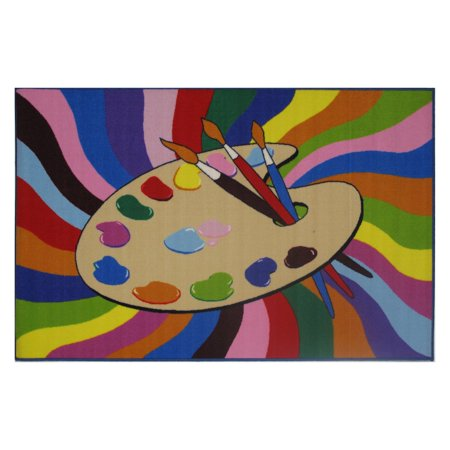 """Fun Rugs Painting Time 19"""" x 29"""" Rug"""