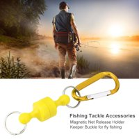 Hilitand Strong Magnetic Release Clip Holder with Snap Hook Connector Outdoor Fly Fishing Tackle ,Magnetic Clip, Magnetic Release Clip