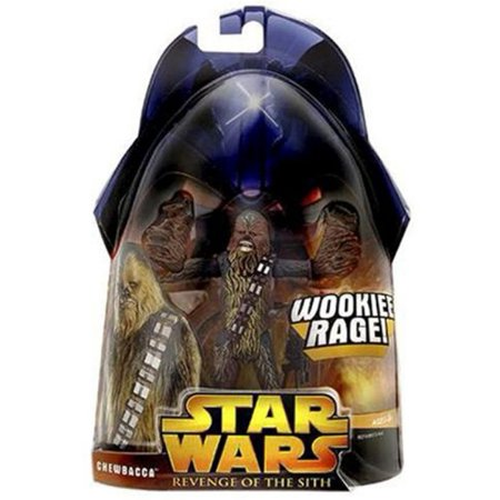 Star Wars Revenge of The Sith Chewbacca Wookiee Rage Action Figure (Fist Of The North Star Kens Rage Cheats)