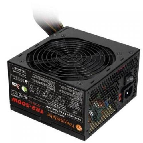 Thermaltake TR2 W0379RU - Power supply ( internal ) - ATX12V 2.2/ EPS12V - AC 115/230 V - 500 Watt - black