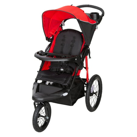 Baby Trend Xcel-R8 Jogger - Ruby - Baby Jogger Elite Single