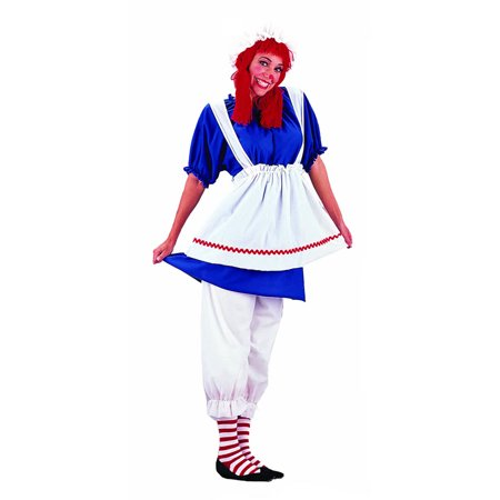 Plus Size Rag Doll Plus Costume