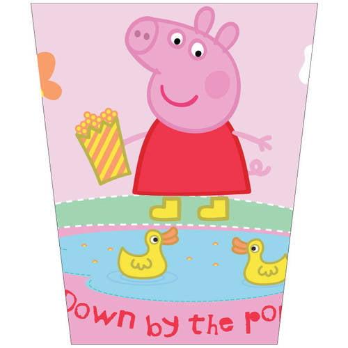 Peppa Pig 'Peppas Pond' Plastic Waste Basket