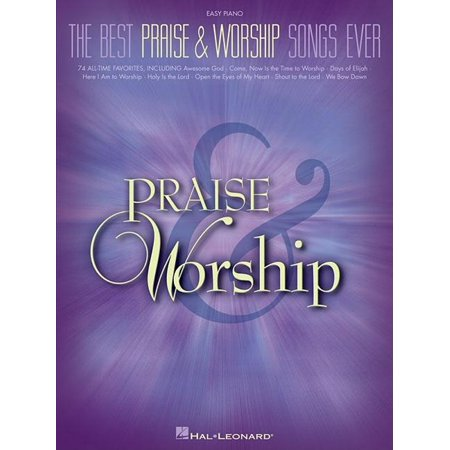 The Best Praise & Worship Songs Ever (Paperback) - The Best Halloween Songs Ever