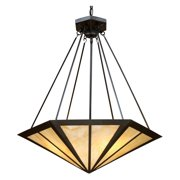 ELK Lighting 70107-3 Oak Park Pendant - 24W in. Bronze