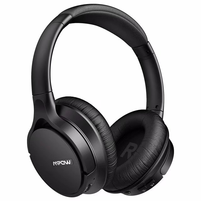 Mpow H4 Bluetooth Headphones, aptX Hi-Fi Over Ear Wireless Headset with Personalized Sound Effect, Protein Earpad Bluetooth Headphones with Mic, 30 Hours Audio Playback