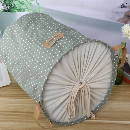 HC-TOP Waterproof Foldable Laundry Bag Dirty Clothes Basket Linen Bin Storage Folded - image 2 of 6