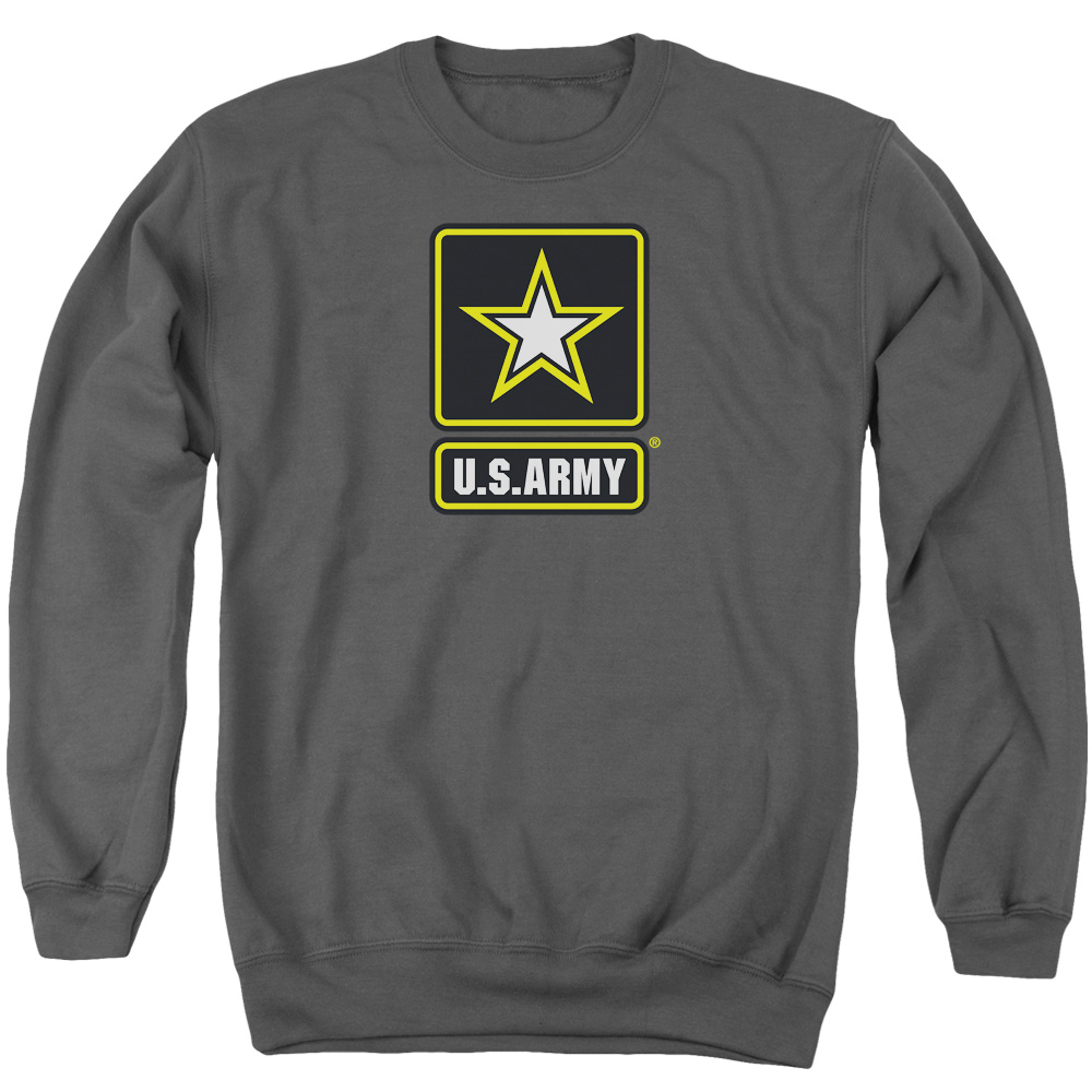 Army Logo Mens Crewneck Sweatshirt