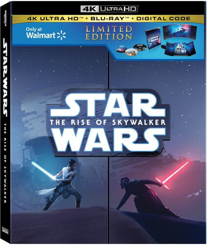 Star Wars Episode Ix The Rise Of Skywalker Walmart Exclusive 4k Ultra Hd Blu Ray Digital Copy Walmart Com Walmart Com