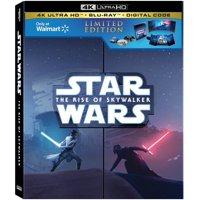 Star Wars: Episode IX: The Rise of Skywalker (Walmart Exclusive) (4K Ultra HD + Blu-ray + Digital Copy)
