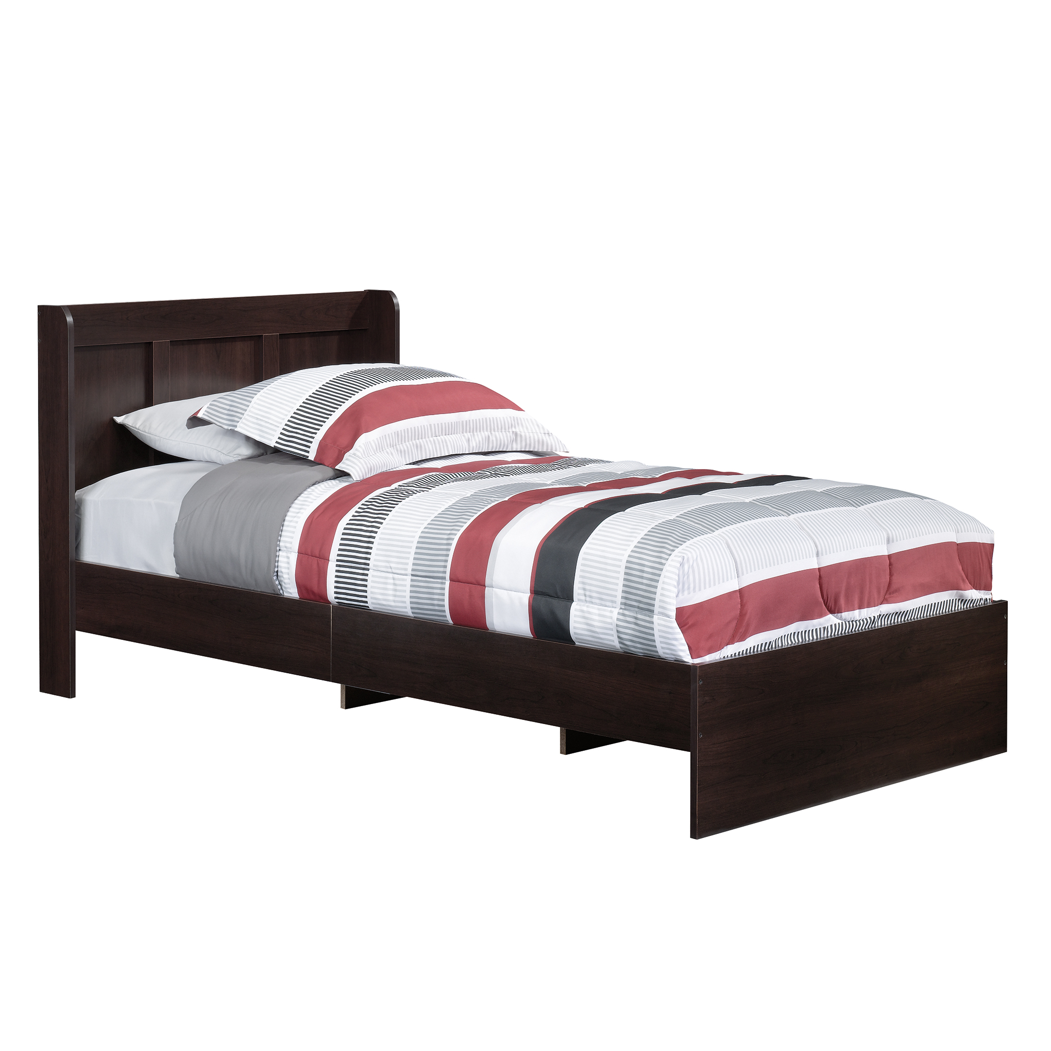 Sauder Parklane Kids Twin Platform Bed With Headboard