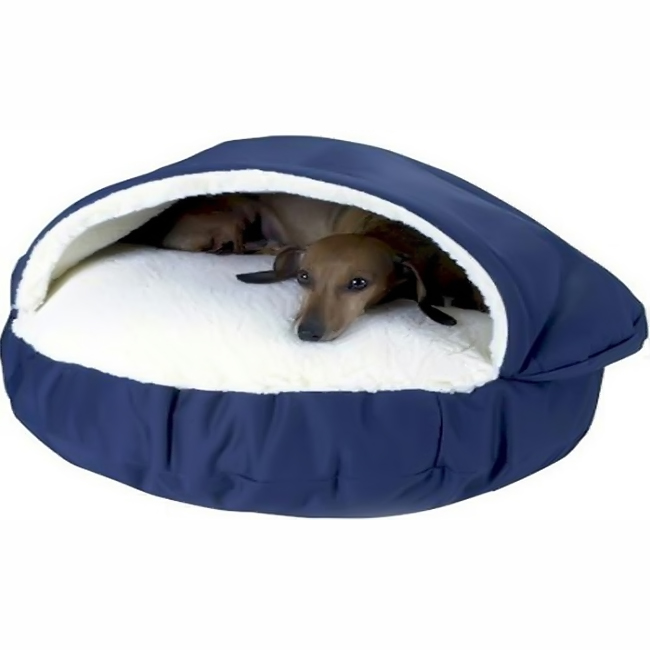 O'Donnell Industries 87601 Large Orthopedic Cozy Cave Pet Bed - Red