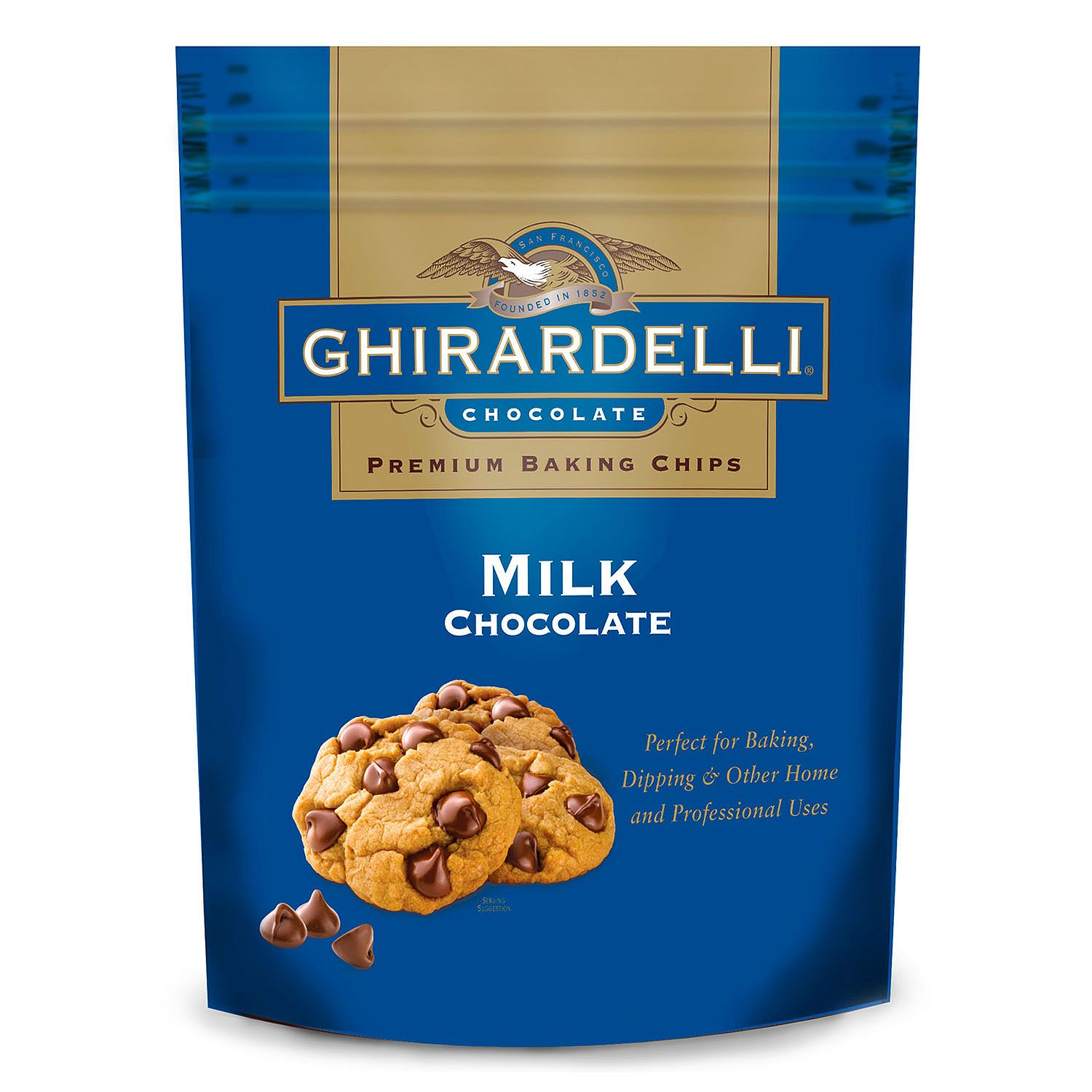 Ghirardelli Milk Chocolate Baking Chips (33 oz.) by Ghirardelli Chocolate Co.