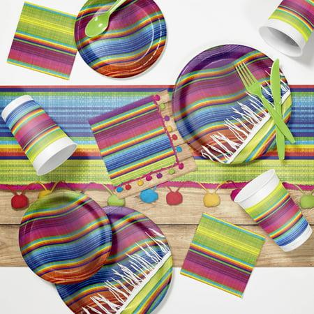 Serape Fiesta Party Supplies Kit
