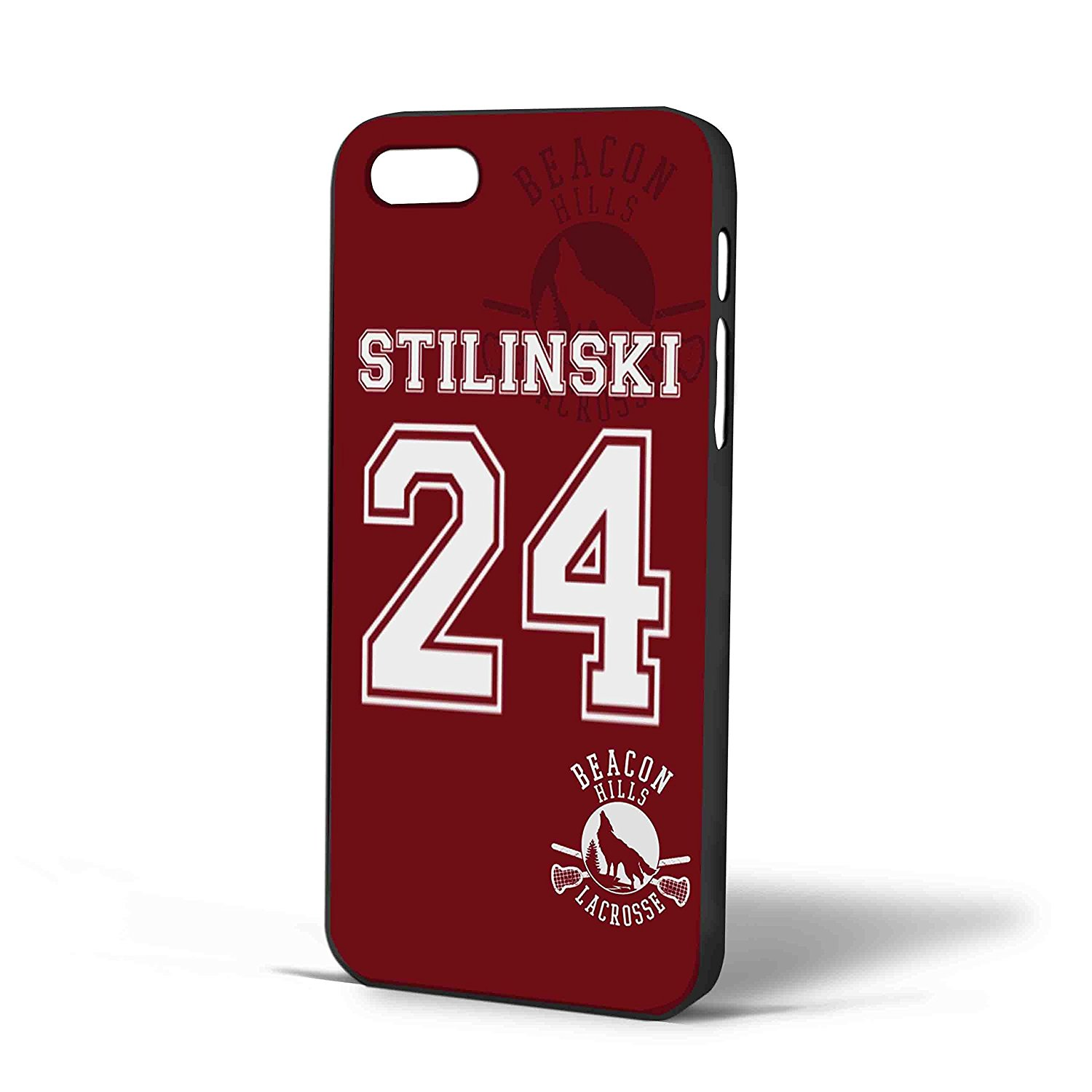 Ganma Teen Wolf Stilinski lacrosse jersey New Design -2 FDL Case For iPhone Case ( Case For iPhone 6 White)