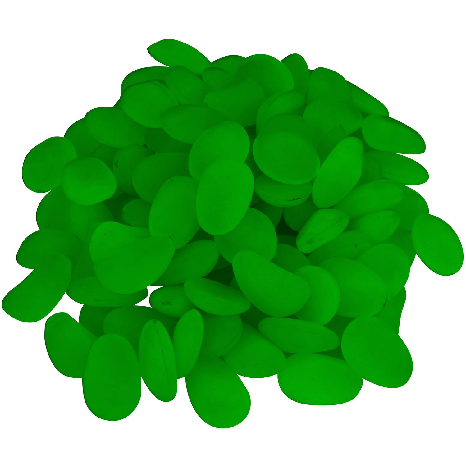 Glow in the Dark Pebbles for Walkways and Decor Outside, Backyard, Garden Decor