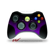 Smooth Fades Purple Black - Decal Style Skin fits Microsoft XBOX 360 Wireless Controller (CONTROLLER NOT INCLUDED) by WraptorSkinz